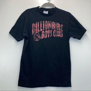Billionaire Boys Club Black T-Shirt with Red Plaid